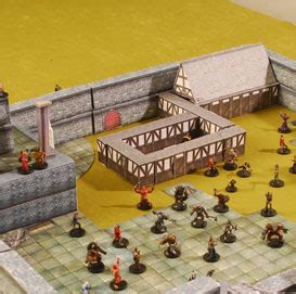 3d dungeons and dragons tiles master town set crafting