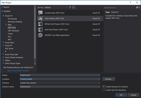 visual studio how to change 2017 rc csproj project s target framework from core to