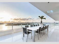 Fascinating Miami Beach Penthouse overlooking Biscayne Bay