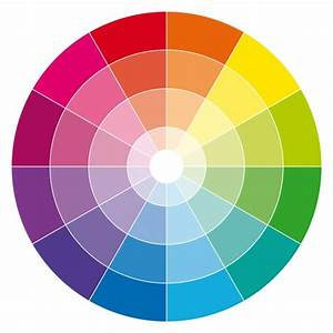 U1408 Chromatic Circle Of Colors Stock Images  Royalty Free