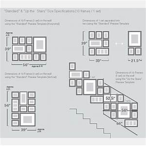 1000 ideas about photo wall arrangements on pinterest With picture hanging template kit