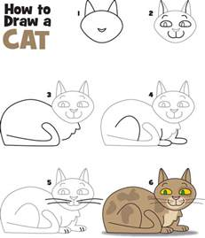 how to draw a cat how to draw a cat kid scoop