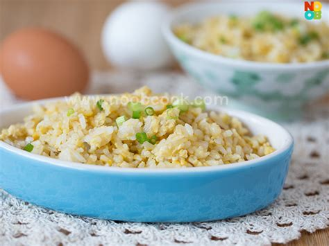 10 minute egg fried rice recipe noob cook recipes