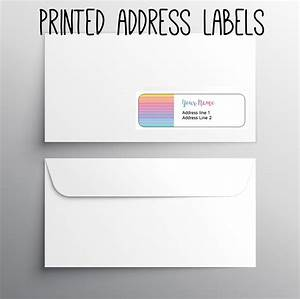 140 return address labels printed address okprintables With custom business return address labels