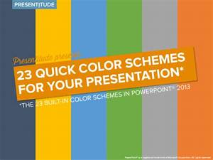 41 color themes ready to use in powerpoint presentitudetm With powerpoint template color scheme