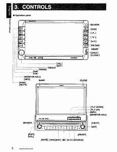 Clarion Vrx485vd Wiring Diagram