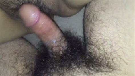 Hairy Hard Boner Cock Penetrates Hungry Meaty Cunt Of