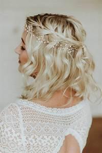Coiffure Mariage Cheveux Courts Photos : 1001 id es pour une coiffure mariage cheveux courts les coiffures des invit es ~ Melissatoandfro.com Idées de Décoration