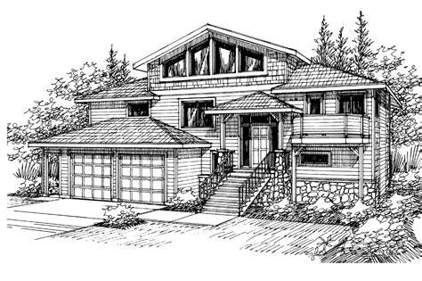 Contemporary House Plans  Matice 30144  Associated Designs