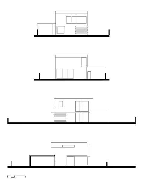 2 Pisos De Bancos En Diseño De Casa Cuadrada De Dos Pisos Con Planos Y Fachadas