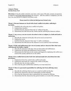 Do My Assignment Australia Antigone Analysis Essay English Essay Topics For Students also Business Plan Writers In West Palm Beach Antigone Analysis Essay Norm Violation Assignment Antigone Literary  Essay Thesis