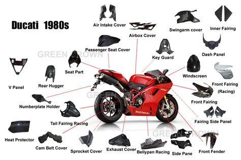 China Carbon Fiber Motorcycle Parts For Ducati (848/1098s