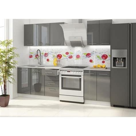 site cuisine vancouver cuisine complète 1m80 laqué gris achat vente cuisine complète cuisine vancouver