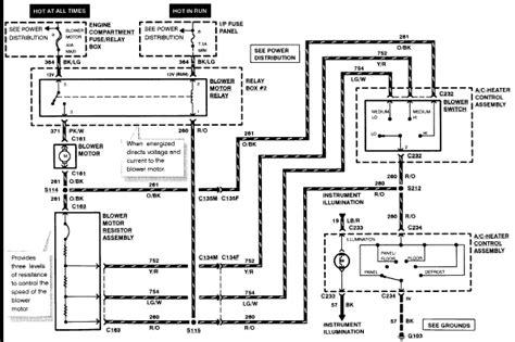 Heater Motor Wiring Diagram Ford Ranger Xlt