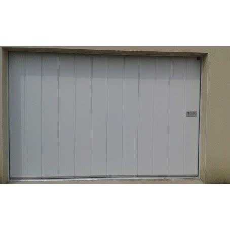 porte de garage coulissante lat 233 rale isol 233 e i manuelle ou 233 lectrique