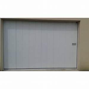 porte de garage coulissante laterale isolee i manuelle ou With porte de garage coulissante et porte coulissante postformée