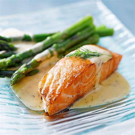 pave de saumon  asperges recettes de cuisine recette