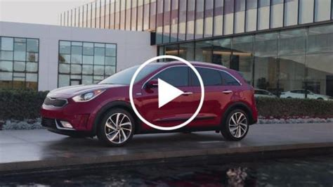 All-new 2017 Niro Hybrid Utility Vehicle Arrives In The
