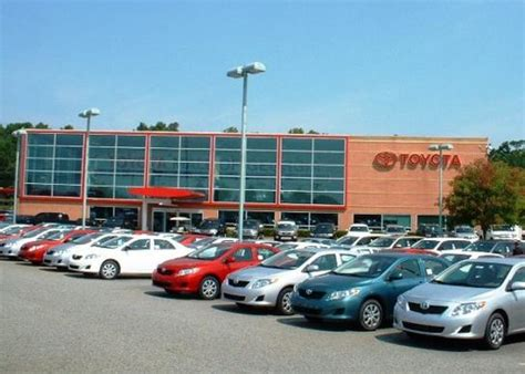 Mall Of Toyota by Autonation Toyota Mall Of Car Dealership In Buford
