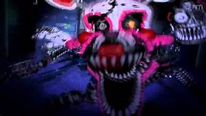Real FNAF 4 HALLOWEEN UPDATE NIGHTMARE MANGLE Jumpscare ...