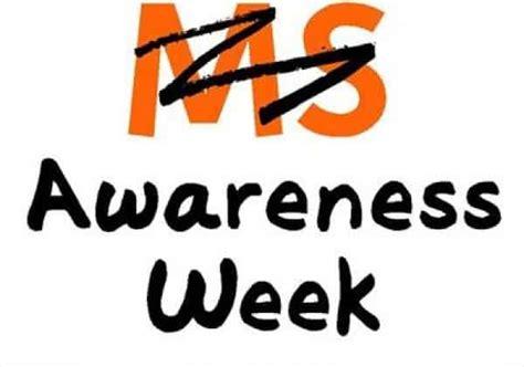ms awareness week national awareness days calendar