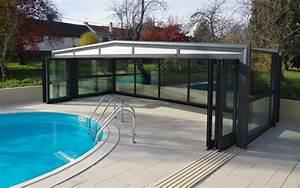 Abri Piscine Haut : c 39 est le moment d 39 installer un abri de piscine c t ~ Zukunftsfamilie.com Idées de Décoration