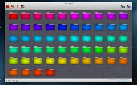 Yosemite Stand by 19 Colored Folder Icons For Mac Images Color Folder