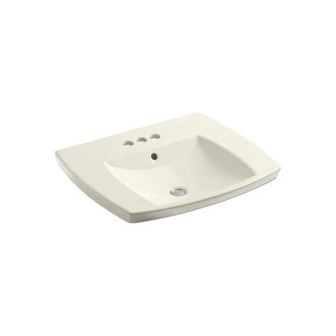 kohler kelston drop in sink kohler kelston drop in vitreous china bathroom sink in