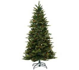 bethlehem lights 7 5 noble spruce christmas tree w instant power h203537 qvc com
