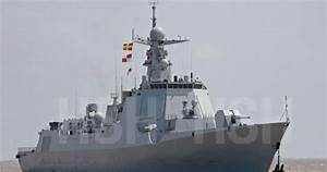 Chinese Type 052D Class Guided Missile Destroyer Starts ...
