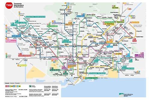 mapa do barcelona metrô baixar