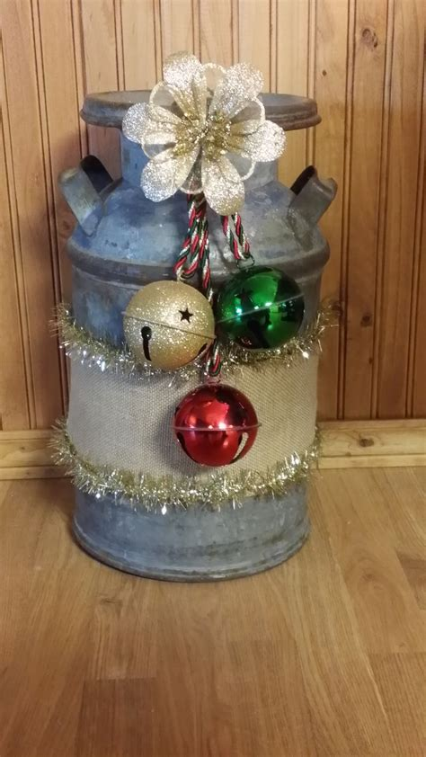 christmas milk can ideas pinterest 1000 ideas about milk cans on antique milk can tractor seats and milk jugs