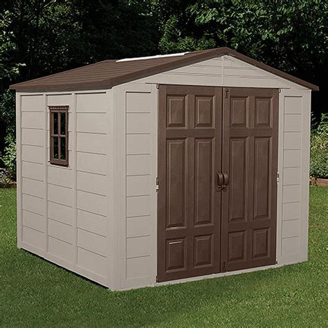 Suncast Outdoor Storage Shed by Suncast 7 5 X 7 5 Outdoor Storage Building Shed