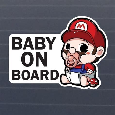jdm sticker on baby on board waterproof jdm car stickers on car styling