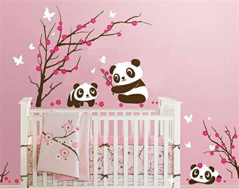 Wandgestaltung Babyzimmer Mädchen by Babyzimmer Wandgestaltung 15 Wanddeko Ideen Mit Tieren