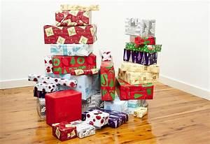 Photo of Gift boxes, symbol of joy celebrated at Christmas ...