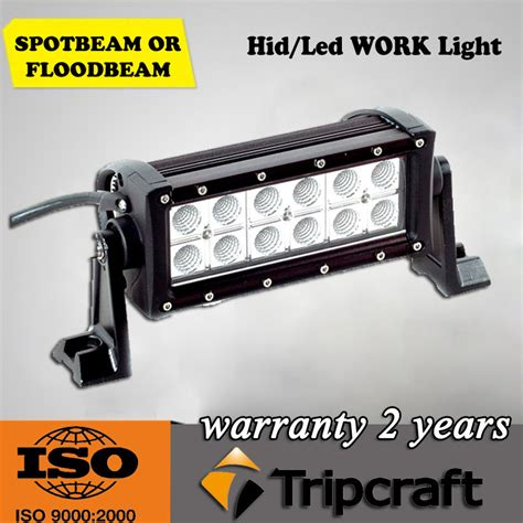 sale 7 5 inch 36w led road light bar 4x4 cheap led