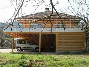 Abri De Terrasse En Bois : terrasse abri voitures 0914 saint baldoph 73 ~ Dailycaller-alerts.com Idées de Décoration