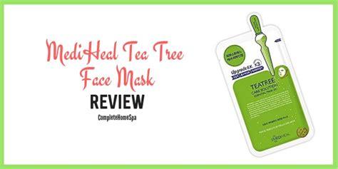 Mediheal Tea Tree Mask Review  Complete Home Spa