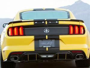 2015-2018 Mustang Carbon Fiber Rear Spoiler SGT045