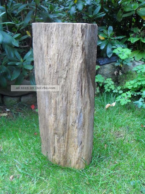 Garten Deko Eichenbalken by Alter Eichenbalken Stele Skulptur Garten Deko