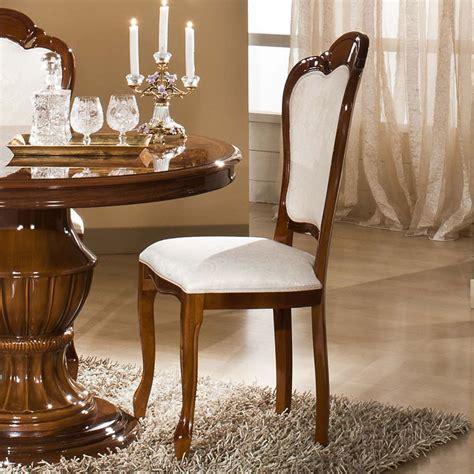 chaise tissu salle a manger chaises salle a manger noyer