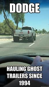 Dodge Hauling Ghost Trailers Since 1994 Ghost Trailer