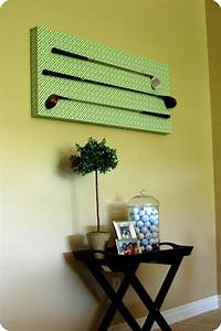 33 shades of green golf club wall decor With golf wall art