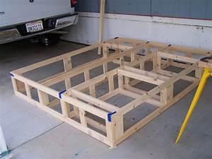 Woodwork Platform Bed Frame With Drawers Plans PDF Plans
