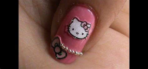 How to Do Hello Kitty Nail Art Design?! « Nails & Manicure