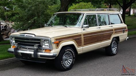 1989 jeep wagoneer interior 1989 jeep grand wagoneer base sport utility 4 door 5 9l
