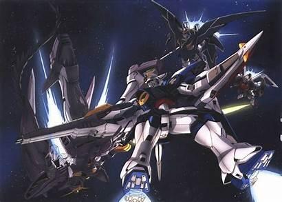 Gundam Wing Zero Wallpapers Backgrounds Wallpapertag Galaxy