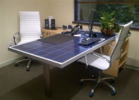 Solar Desk by Solar Panel Desk Solar Products I Solar Pannels