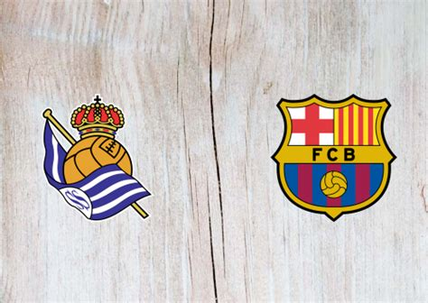 Real Sociedad vs Barcelona Full Match & Highlights 13 ...